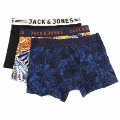 JJ PAISLEY Mens Trunks 3 Pack Burnt Ochre/Sychamore