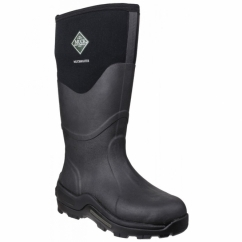 MUCKMASTER HI Unisex Waterproof Wellington Boots Black