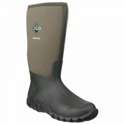 EDGEWATER HI Unisex Waterproof Wellington Boots Moss