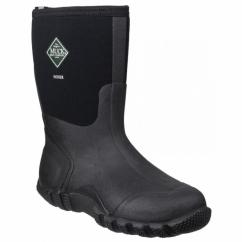 HOSER CLASSIC MID Unisex Waterproof Wellington Boots Black