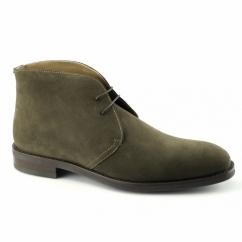 WESTBURY Mens Suede Chukka Boots Pine