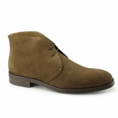 WESTBURY Mens Suede Chukka Boots Ginger