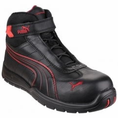 DAYTONA MID 632160 Mens Leather Safety Boots Black