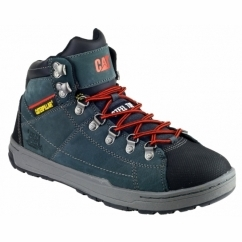 BRODE Mens Steel Hi-Top Safety Boots Dark Shadow