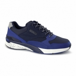 BAYARD Mens Trainers Navy Blazer