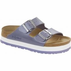 ARIZONA Ladies Platform Buckle Sandals Lavender