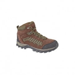 CYCLONE Unisex WP Hiking Boots Brown/Khaki