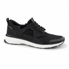 HATTON Mens Trainers Anthracite Black