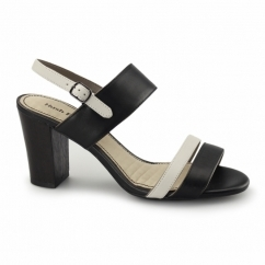 MOLLY MALIA Ladies Heeled Sandals Black