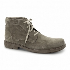 BROCK Mens Leather Chukka Boots Cub