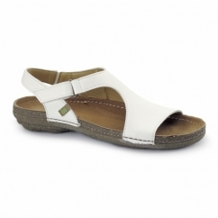 N378 Ladies Vegan Sandals White