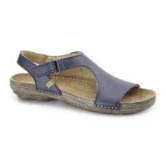 N378 Ladies Vegan Sandals Navy