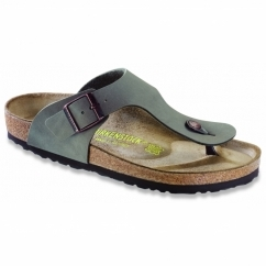 RAMSES Mens Toe Post Buckle Sandals Stone