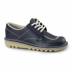 KICK LO Ladies Leather Shoes Navy