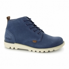 KICK HI SUMA Mens Chukka Boots Blue
