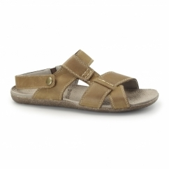 MARCUS FRAME Mens Leather Sandals Tan