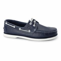 DOCKSIDER 2 G2 Mens Leather Boat Shoes Navy