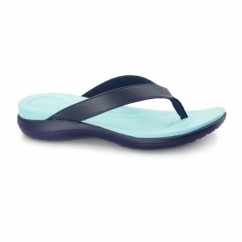 CAPRI V Ladies Flip Flops Navy/Pool