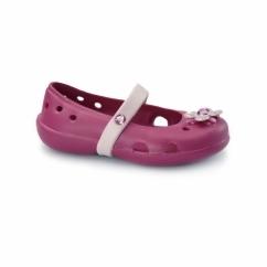 KEELEY SPRINGTIME Kids Mary Jane Flats Raspberry/Petal Pink