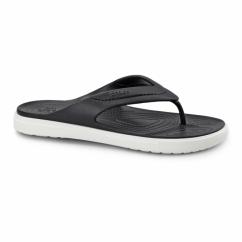 CITILANE FLIP Unisex Toe Post Flip Flops Black/White