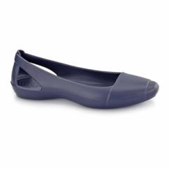 SIENNA FLAT Ladies Ballerina Flat Shoes Navy