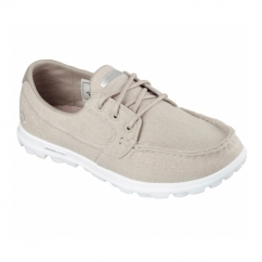 ON THE GO MIST Ladies Boat Shoes Taupe