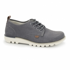 KICK LO SUMA Mens Lace Up Shoes Grey