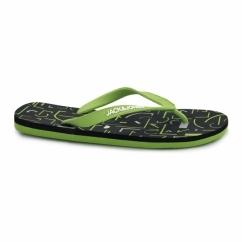 JJTECH Mens Rubber Toe Post Flip Flops Forest Night