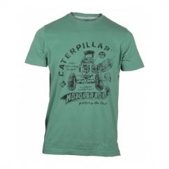 AUTO PATROL Mens Printed T-Shirt Green