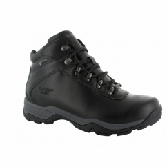 EUROTREK III Mens WP Leather Walking Boots Black