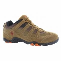 QUADRA CLASSIC Mens Walking Shoes Brown/Orange