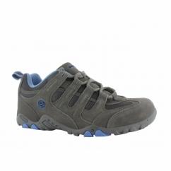 QUADRA CLASSIC Ladies Walking Shoes Grey/Charcoal