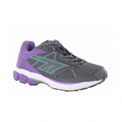 R200 Ladies Sports Trainers Graphite/Orchid/Electric