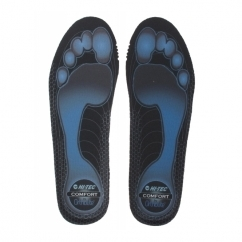 COMFORT 5.5MM Mens Shoe Insoles Black/Blue