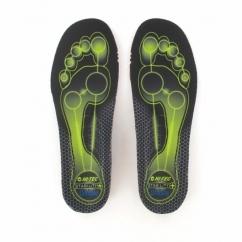 STABILITY Unisex Shoe Insoles Black/Limoncello