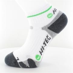 X SUPPORT COURT Mens Quarter Socks 2 Pairs White