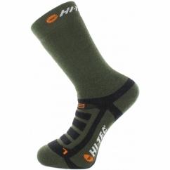 TREK MIDWEIGHT Mens Socks 2 Pairs Dark Forest