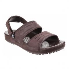 YUKON Mens Two Strap Mule Sandals Mahogany