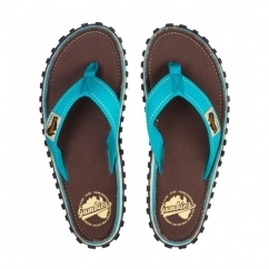 ISLANDER Unisex Canvas Flip Flops Retro Brown