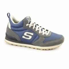 OG 85 BEULLER Mens Sports Fitness Trainers Grey/Blue