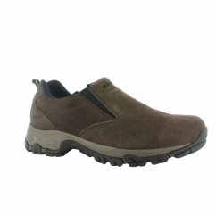 ALTITUDE MOC SUEDE Mens Suede Shoes Dark Chocolate