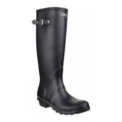 SANDRINGHAM Ladies Tall Wellington Boots Black
