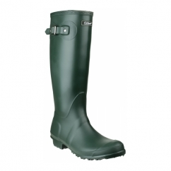 SANDRINGHAM Ladies Tall Wellington Boots Green