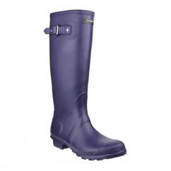 SANDRINGHAM Ladies Tall Wellington Boots Purple