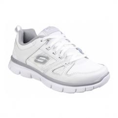 FLEX ADVANTAGE MASTER FLEX Boys School Shoes White
