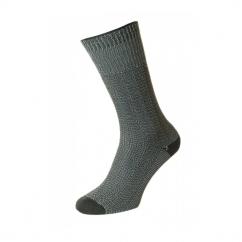 HJ4 Indestructible™ Mens Half Hose Walking Socks Steel Grey