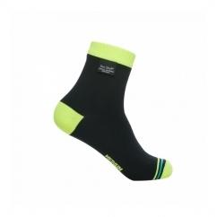 ULTRALITE BIKING Unisex Ankle Waterproof Socks Black/Hi-Vis Yellow