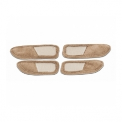 LYDIA EXTENSION STRAPS Ladies Touch Fasten Taupe