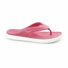 CITILANE FLIP Unisex Toe Post Flip Flops Raspberry/White