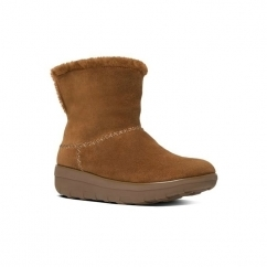 MUKLUK SHORTY™ II Ladies Suede Warm Boots Chestnut